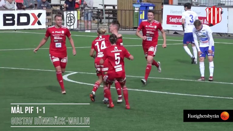 Piteå IF FF säsongen 2018