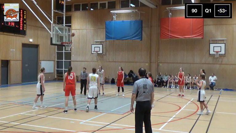 Livestream från Riksbasketgymnasiet Luleå